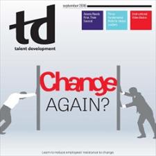 September 2016 TD magazine