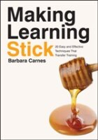 Making Learning Stick