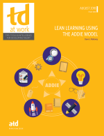 Lean Learning Using the ADDIE Modle