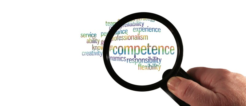 Competency flexibility magnifying glass search