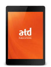 ATD publications app tablet home