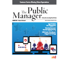 The Public Manager Summer 2015