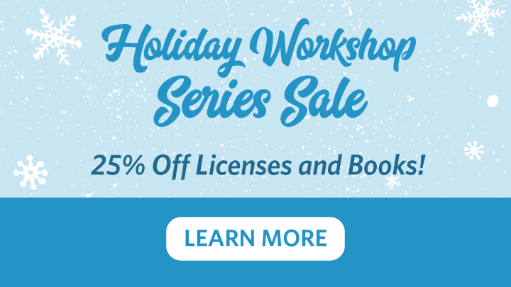 PUBS-2018 Holiday Workshop Series Sale Static Lead Module Image