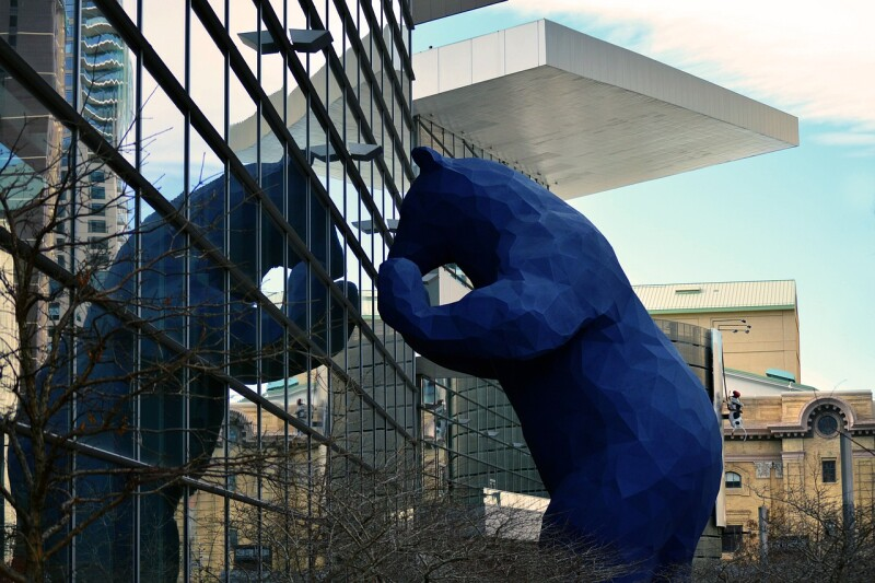 Denver Bear Monument