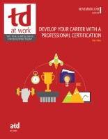 Develop Your Career With a Professional Certification