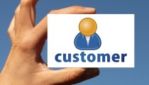 Customer card Consumer