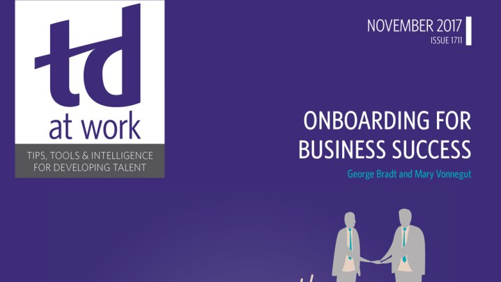 Onboarding for Business Success Cover