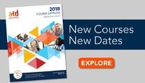 ATD Education Catalog Fall 2018