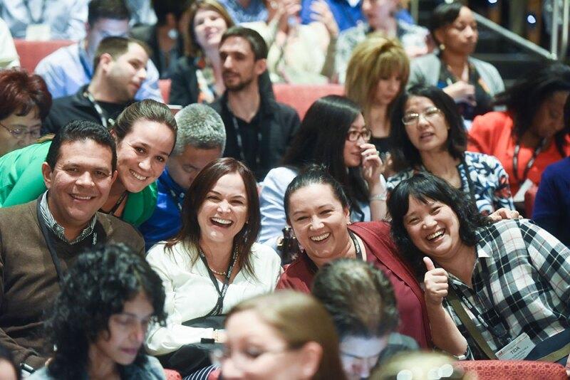 Happy Team Members Attending ATD 2016