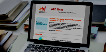 atd links email on laptop