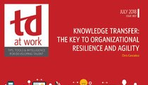 Knowledge Transfer: The Key to Organizational Resilience and Agility