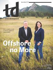 December 2017 TD magazine cover