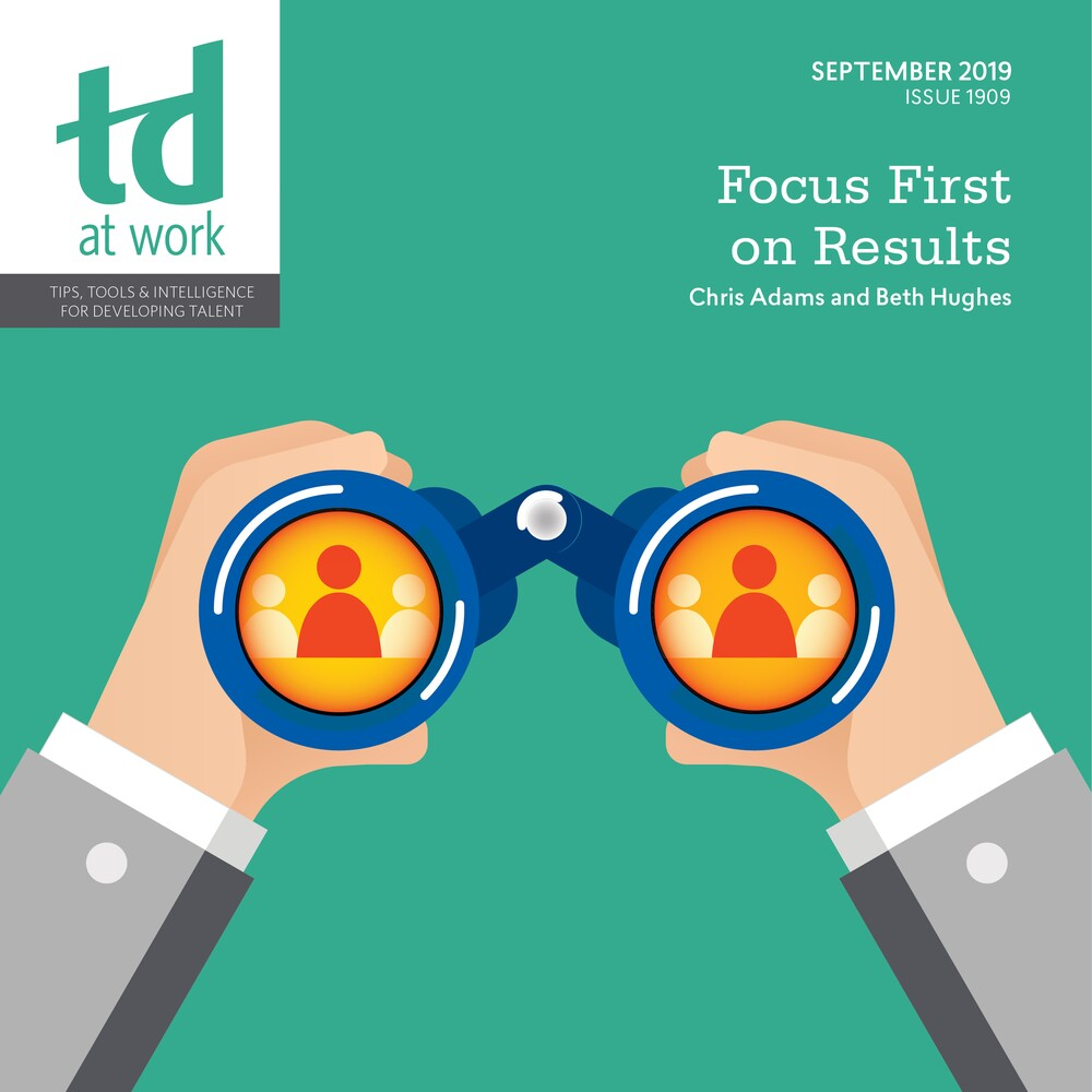Focus First on Results