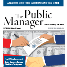 The Public Manager Winter 2014